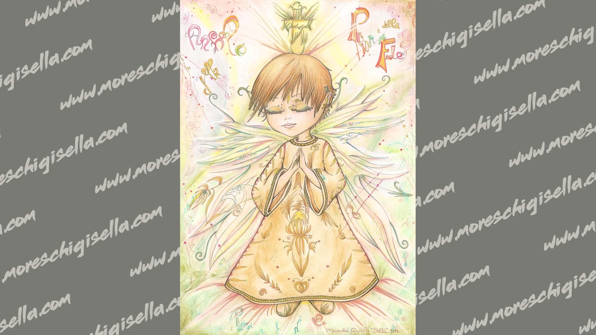 angelo della preghiera e della fede