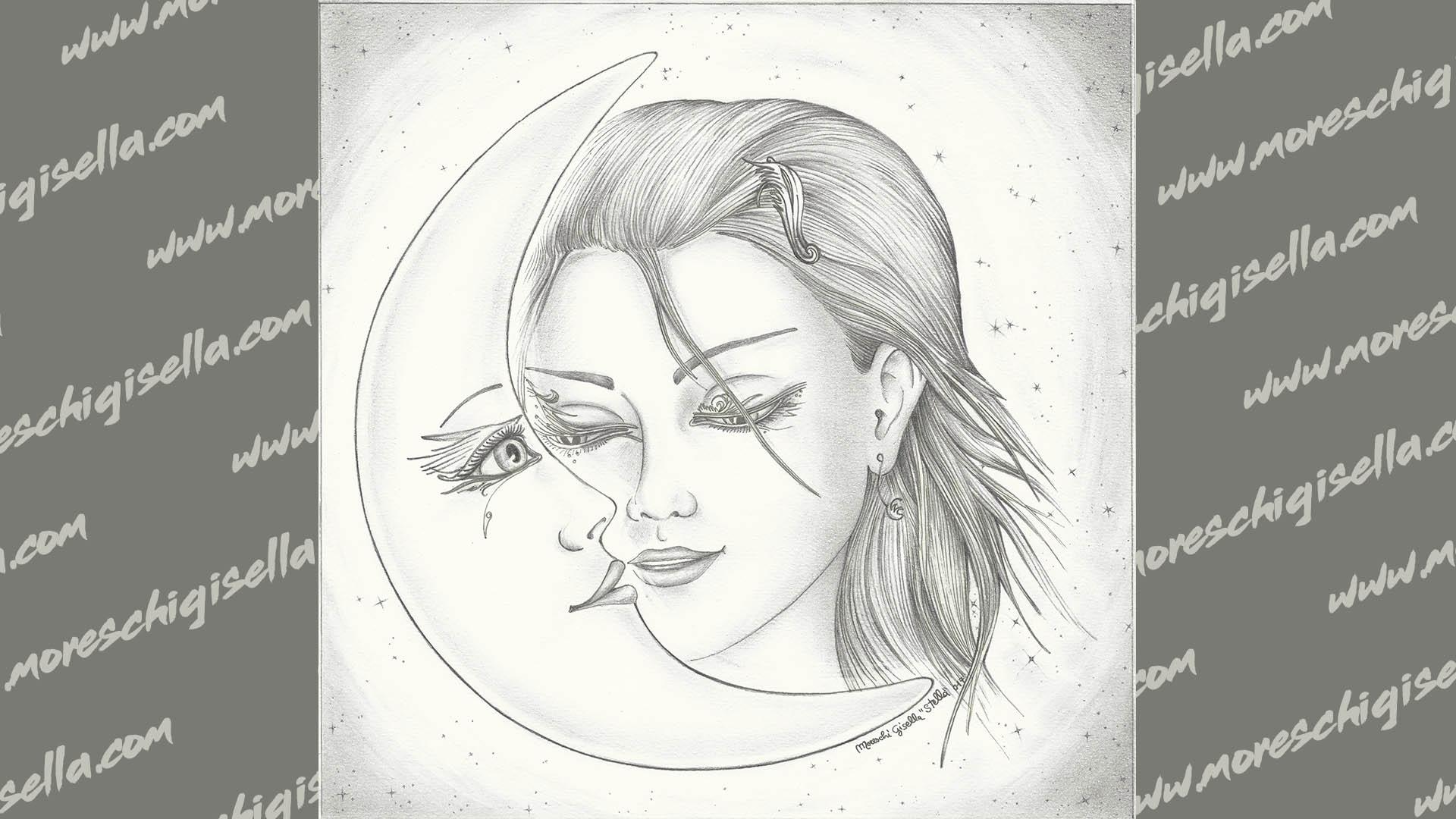 la luna e l angelo